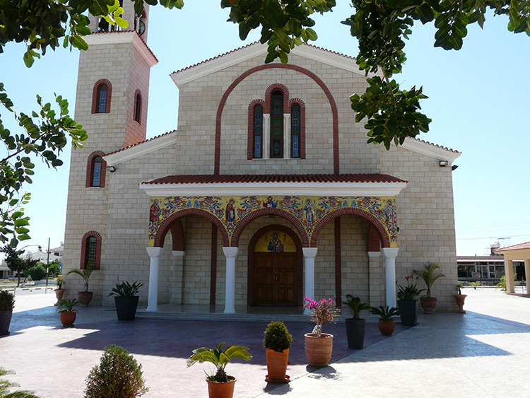 Кипр - Церковь Апостола Варнавы, Камарес