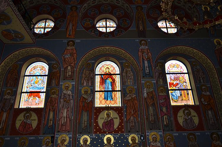 Сибиу - Вознесение и Церковь Святого Николая