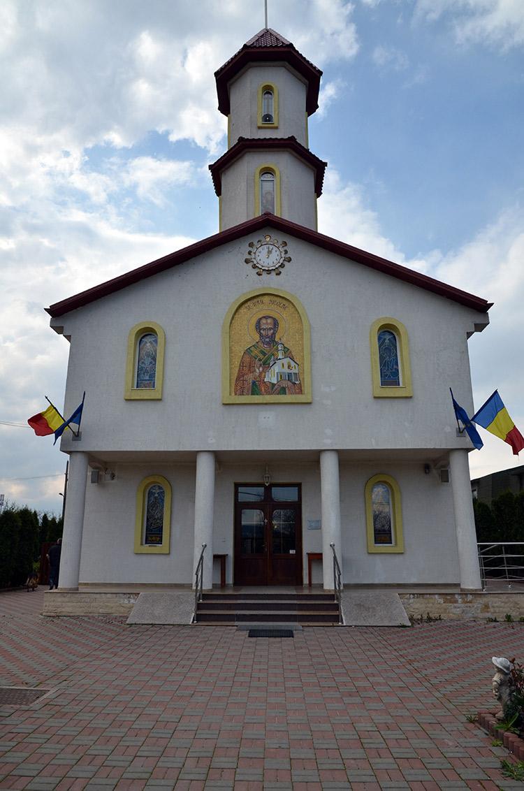 Клуж - Греко-Католическая Церковь Святого Николая, Флорешть