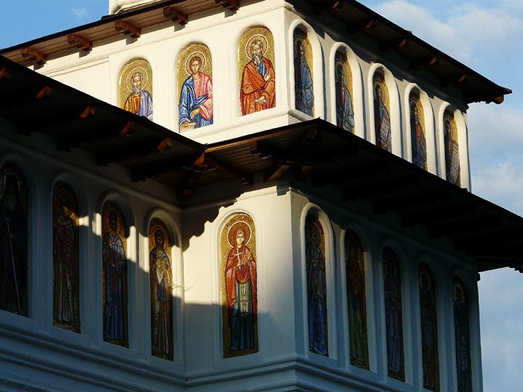 Вранча - Монастырь Мушиноаеле