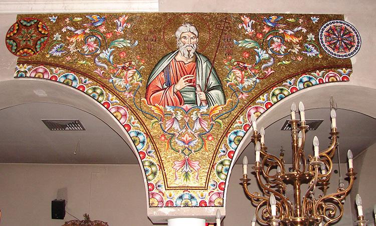 Нямц Монастырь - Богословская Церковь