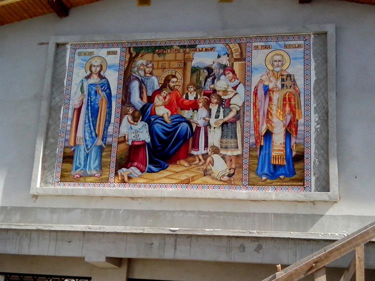 Сибиу - Церковь Сошествии Святого Духа, Валя Аурие