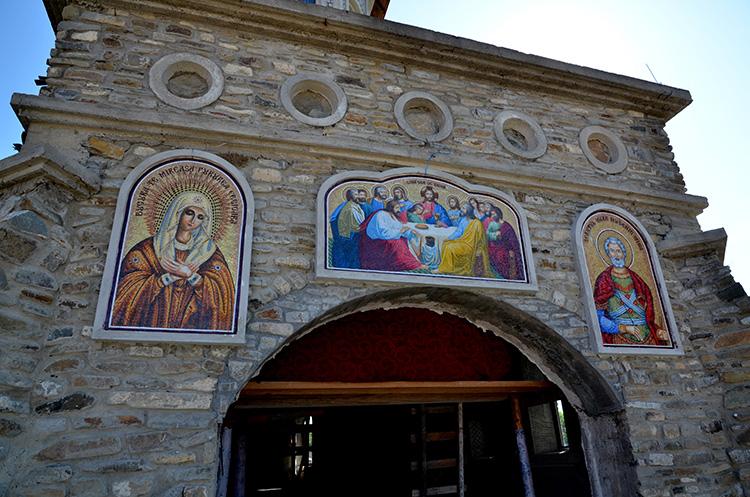 Фэлтичень - Монастырь Святого Мина, Рощиорь